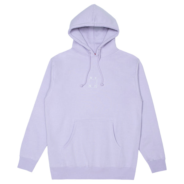 Embroidered Logo Hoodie - Lavender