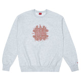 Grate Crewneck - Heather Grey
