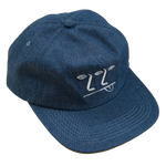 3-2-1 Face Hat - Denim