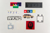 WKND Sticker Pack (10 Stickers)