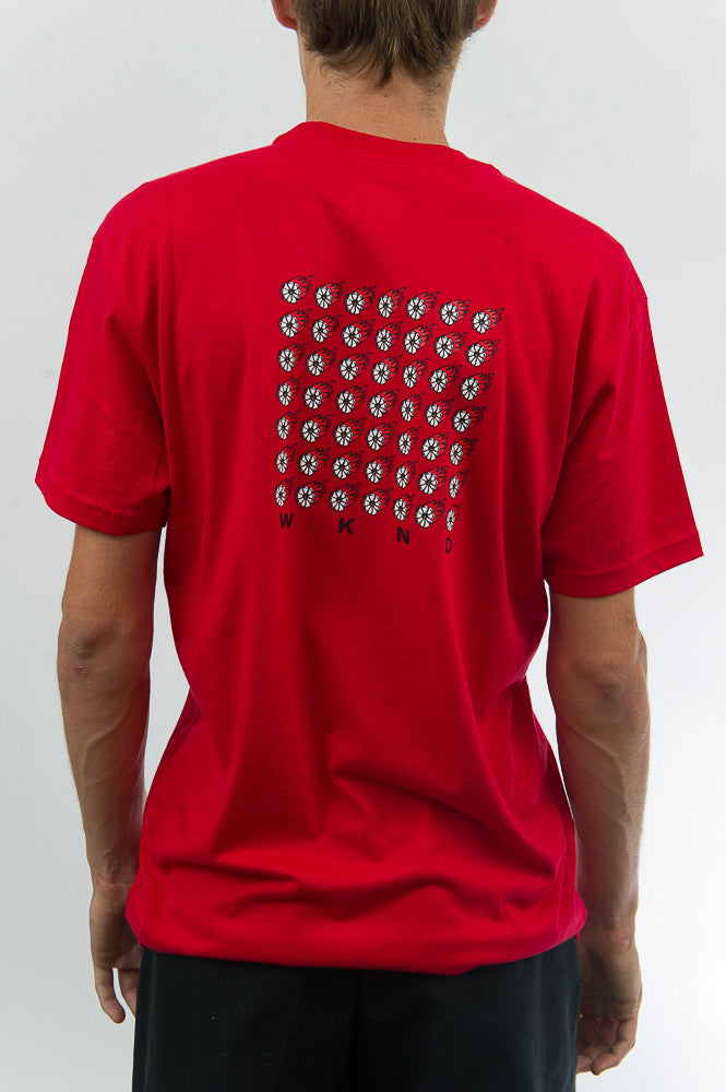 Fire Power Tee - Red
