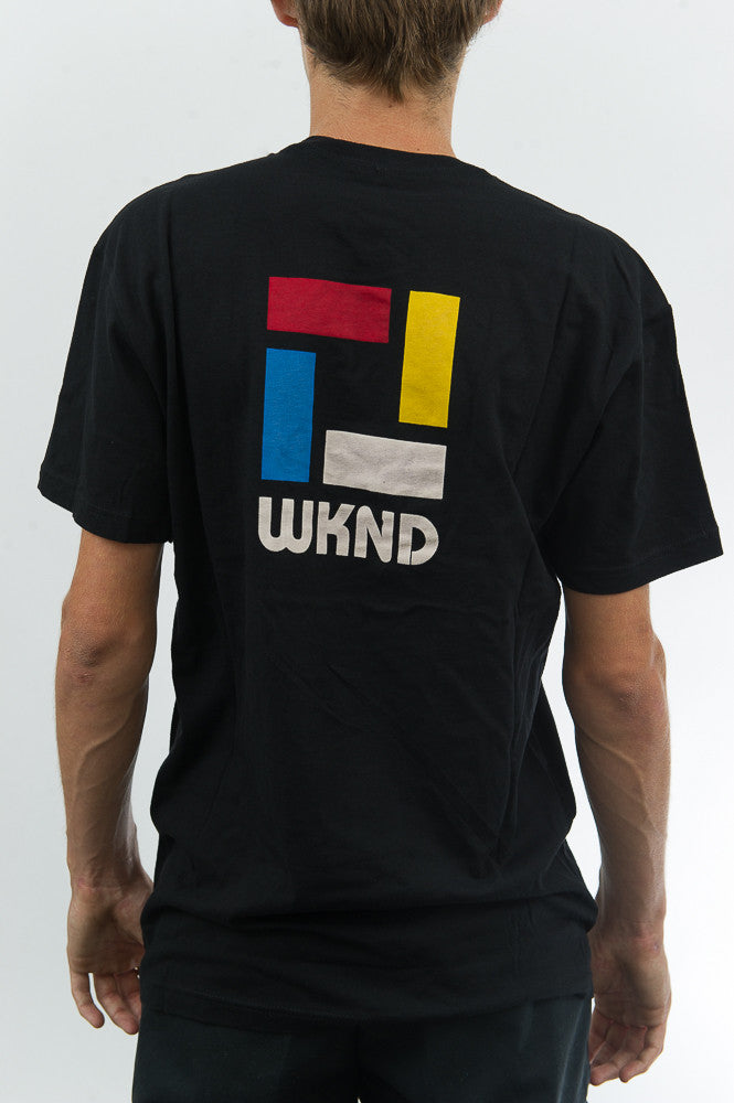 Composition Tee - Black