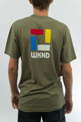 Composition Tee - Olive