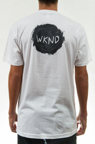 Sketch Ball Tee White