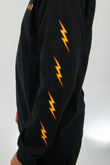 Ghost Bolts Long Sleeve - Black