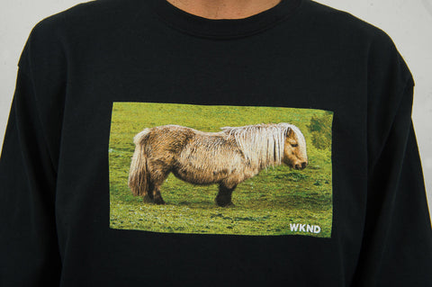 Pony Long Sleeve - Black