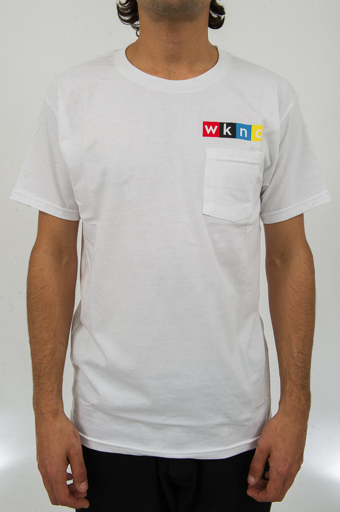 NPW Pocket Tee - White