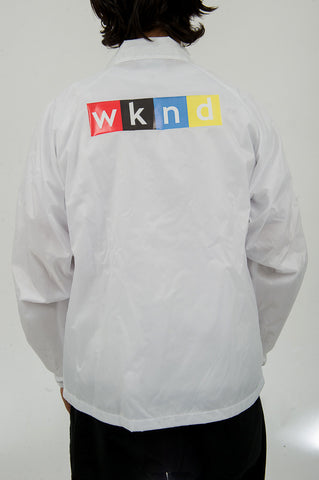 NPW Coaches Jacket - White