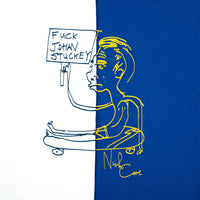Fuck Johan Stuckey Tee - Royal