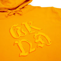 Chrome on Hoodie - Gold