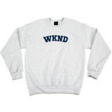 College Crewneck - Heather Grey
