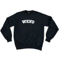College Crewneck - Navy