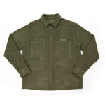Major Cord Button Up - Forest Green