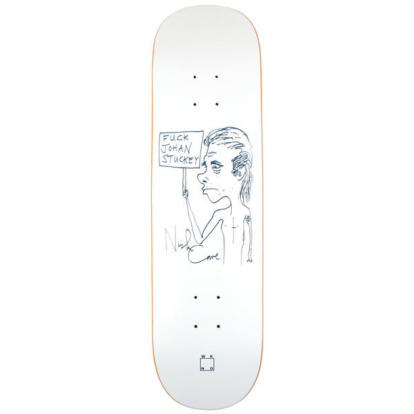 Fuck Johan Stuckey -  8.0"