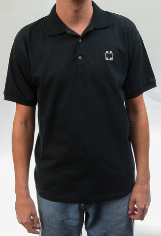 WKND Logo Polo Shirt - Black