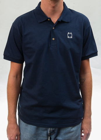 WKND Logo Polo Shirt - Navy