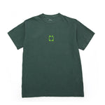 Center Logo Tee - Blue Spruce