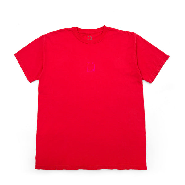 Center Logo Tee - Paprika