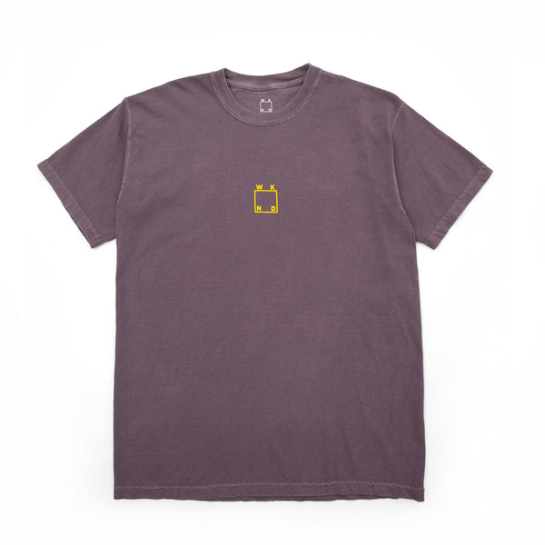 Center Logo Tee - Wine