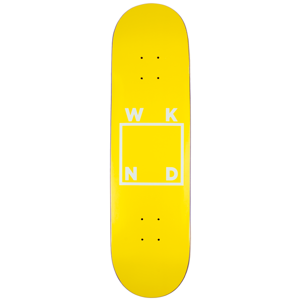 Yellow Logo Board -  8.0"