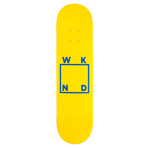 Yellow and Blue Logo - 8.0""
