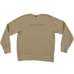 WKND Skateboards Crew Neck - Sandstone