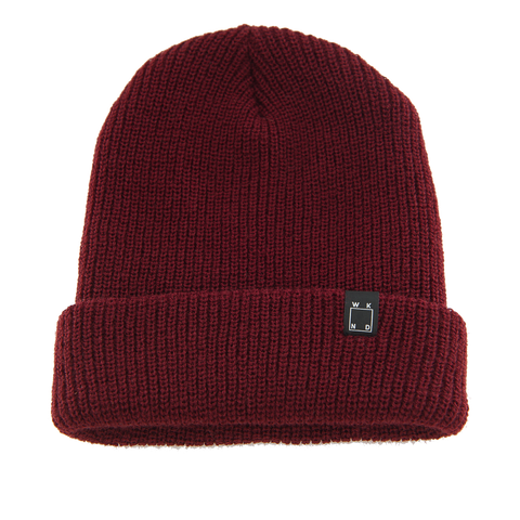 WKND Watch Cap Beanie - Burgundy