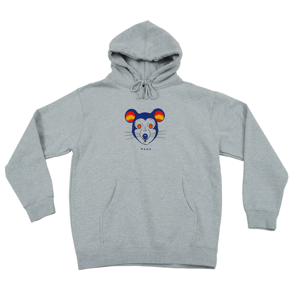 Mouse Hoodie - Heather Grey