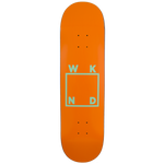Orange/Mint Logo Board - 7.75""