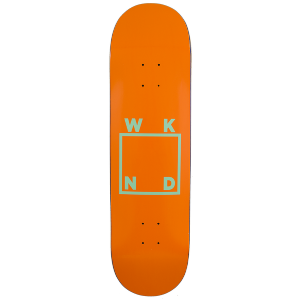 Orange/Mint Logo Board - 8.0"