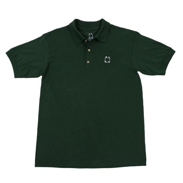 WKND Polo - Forest Green