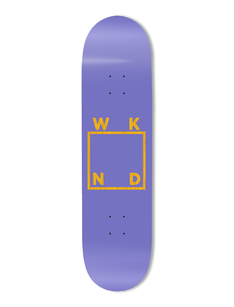 Purple Logo Deck - 8.25""