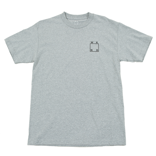 Reflective Tee- Heather