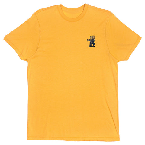 Box Boy Tee Gold