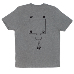 School Girl Tee - Heather Grey