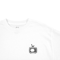 TV Long Sleeve- White