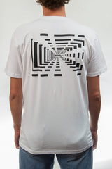 Tunnel Vision Tee - White