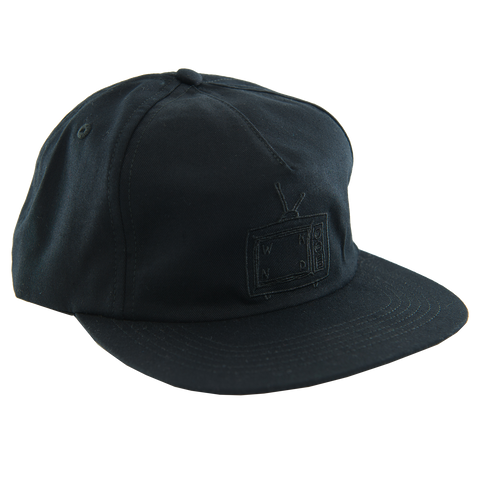 TV Logo Snap Back - Black