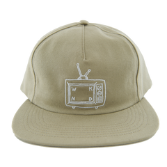 TV Logo Snap Back - Khaki