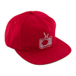 TV Logo Snap Back - Scarlet