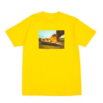 Van on Fire Tee - Yellow
