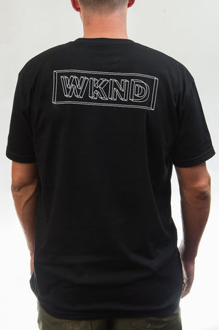 Wire Frame Tee - Black
