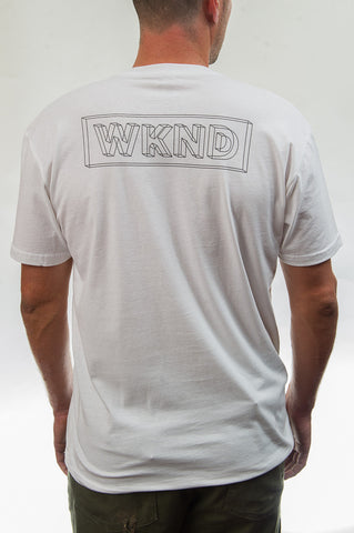 Wire Frame Tee - White