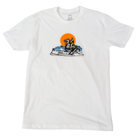 Wyoming Tee - White