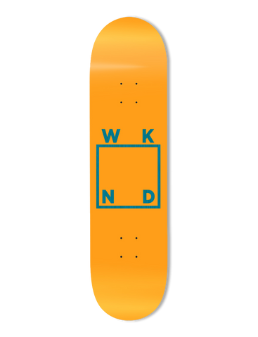 Orange Cream Logo Deck - 8.0""