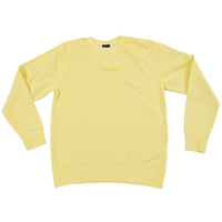 Tonal Crew Neck - Pigment Yellow