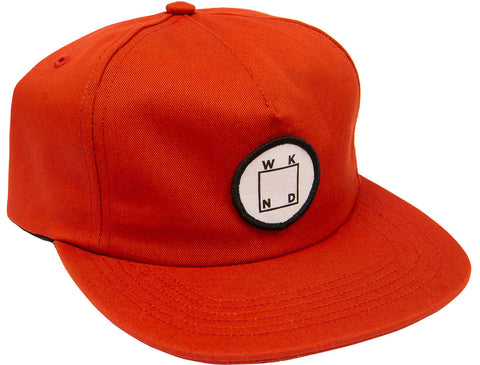 WKND Logo Patch Snapback - Rust