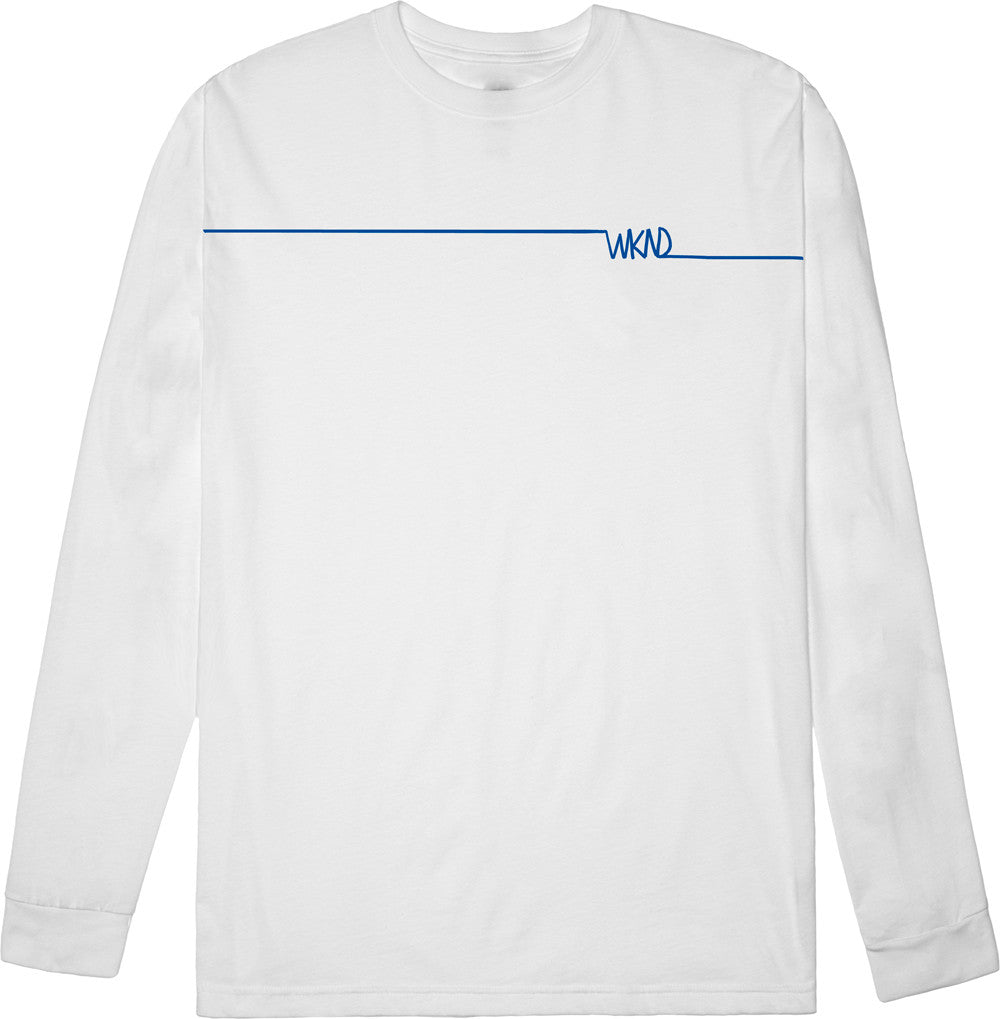 Long Line Long Sleeve White