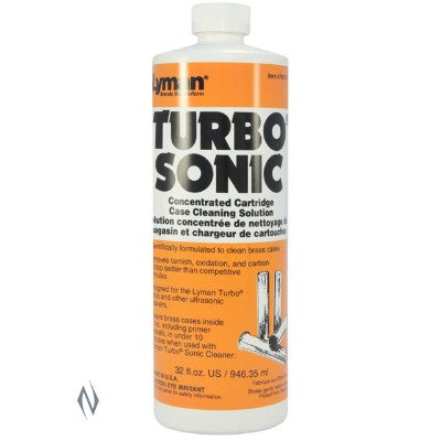 LYMAN TURBO SONIC CASE CLEANING SOLUTION 32 OZ LY-TSC32