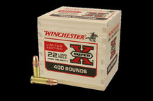 Winchester .22Lr 36gn HP Super X Wooden Box 400 Rounds